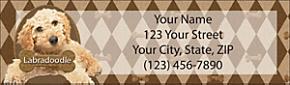 Labradoodle Return Address Label
