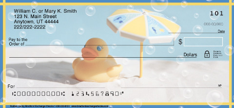 Rubber Ducky Personal Checks