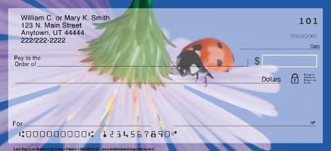 Lady Bug Luck Personal Checks