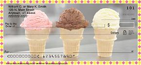Ice Cream Dreams Personal Checks