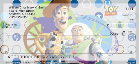 Disney Pixar Toy Story Personal Checks 1800420001