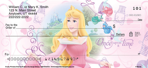 Disney Princess Dreams Personal Checks