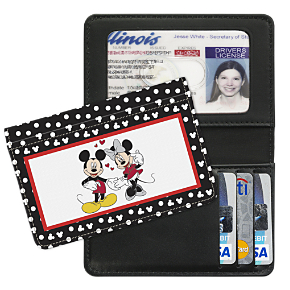 Mickey Loves Minnie Debit Card Holder