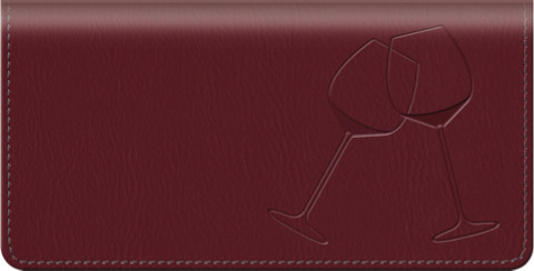 Wine Country Checkbook Cover