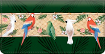 Parrot Bay Checkbook Cover