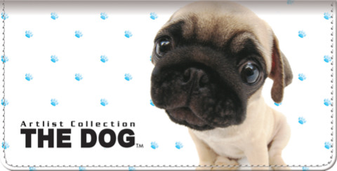 THE DOG-Pug Checkbook Cover