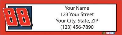 Dale Jr. Return Address Label