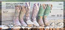 Cowboy Boots Personal Checks