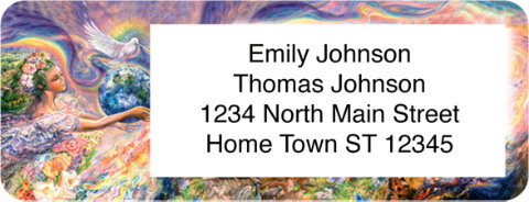Reflections of Imagination Return Address Label