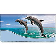 Bradford Exchange Checks Dancing Dolphins Checkbook Cover at Sears.com
