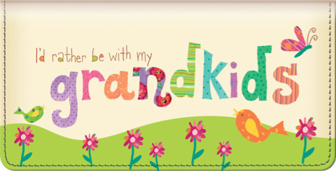 Grandkids Rule! Checkbook Cover