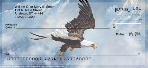 Eagle's Flight Personal Check Designs