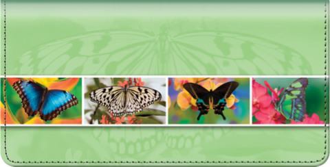 Butterfly Bliss Checkbook Cover