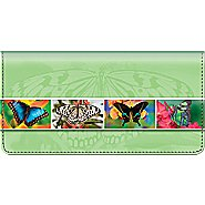 Bradford Exchange Checks Butterfly Bliss Checkbook Cover at Sears.com
