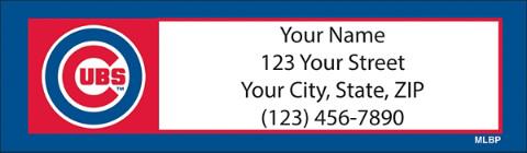 MLB(R) Chicago Cubs(TM) - Catch the Bug! Return Address Label
