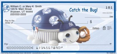MLB(R) New York Yankees(TM) - Catch the Bug! Personal Checks
