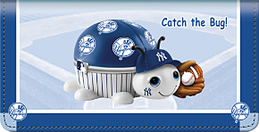 MLB(R) New York Yankees(TM) - Catch the Bug! Checkbook Cover