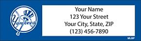 MLB(R) New York Yankees(TM) - Catch the Bug! Return Address Label