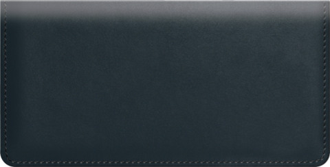 Navy Classic Value Checkbook Cover
