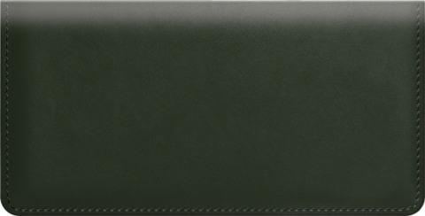 Green Classic Value Checkbook Cover