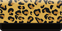 Cheetah Print Checkbook Cover