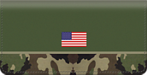 Army Checkbook Cover