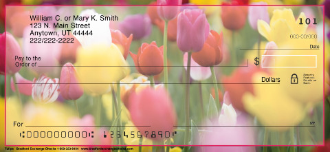 Tulips Personal Checks