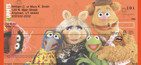 The Muppets Personal Checks