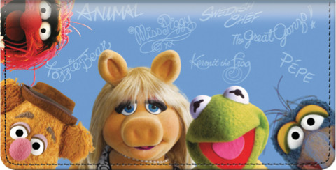 The Muppets Checkbook Cover 1800459010