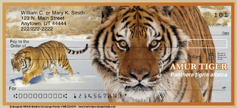 Endangered Species Personal Checks