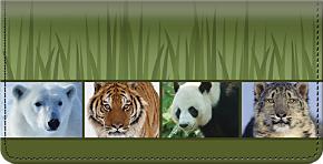 Endangered Species Checkbook Cover
