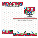 Challis & Roos Happy Howl-idays Personalized Stationery