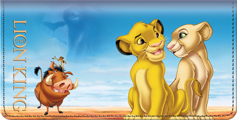 The Lion King Checkbook Cover