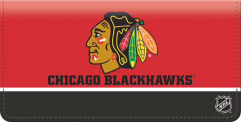 Chicago Blackhawks NHL Checkbook Cover