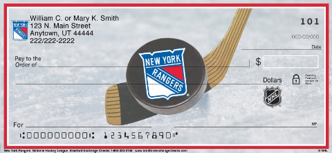 New York Rangers(R) NHL(R) Personal Checks