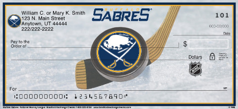 Buffalo Sabres(R) NHL(R) Personal Checks