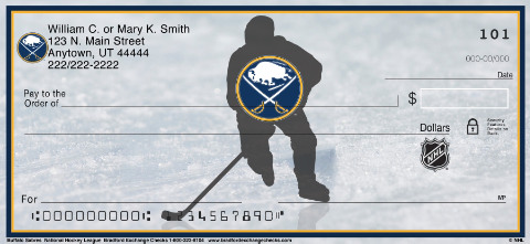 Buffalo Sabres National Hockey League Personal Checks