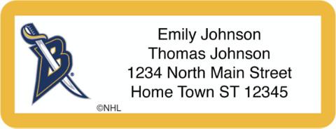 Buffalo Sabres(R) NHL(R) Return Address Label