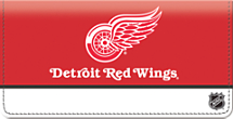 Detroit Red Wings National Hockey League Checkbook Cover