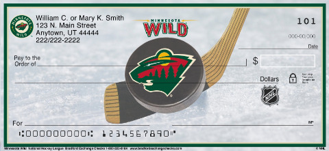 Minnesota Wild(R) NHL(R) Personal Checks