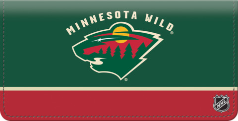 Minnesota Wild(R) NHL(R) Checkbook Cover