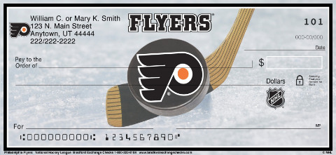 Philadelphia Flyers(R) NHL(R) Personal Checks