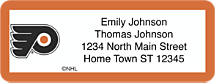 Philadelphia Flyers National Hockey League Address Labels