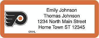 Philadelphia Flyers® NHL® Return Address Label