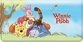 Pooh and Friends Checkbook Cover