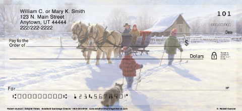 Country Seasons Personal Checks