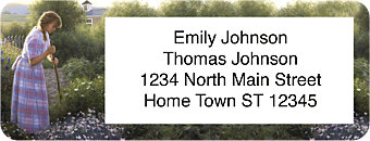 Country Seasons Return Address Label