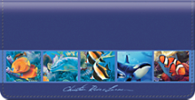 Lassen Under the Sea Checkbook Cover