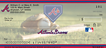 Atlanta Braves Major League Baseball Personal Checks