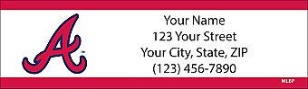 Atlanta Braves™ MLB® Return Address Label